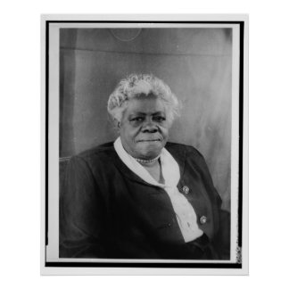 Portrait of Mary McLeod Bethune Print