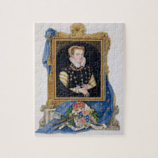 Portrait of Mary Queen of Scots (1542-87) from 'Me Jigsaw Puzzle