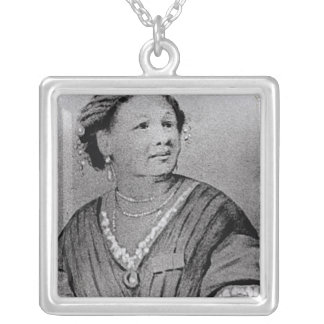 Portrait of Mary Seacole Silver Plated Necklace