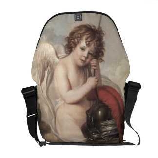 Portrait of Master Oswald Fawcett as Cupid (oil on Messenger Bags