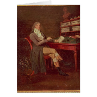 Portrait of Maurice de Talleyrand Card