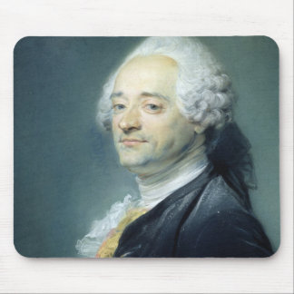 Portrait of Maurice Quentin de la Tour , 1750 Mouse Pad