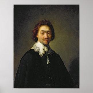 Portrait of Maurits Huygens, 1632 Print