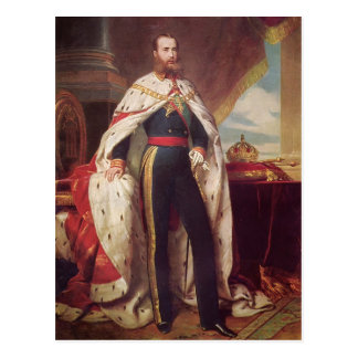 Portrait of Maximilian by Franz Winterhalter Postcard