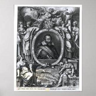 Portrait of Maximilian I of Bavaria Poster