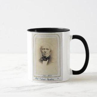 Portrait of Michael Faraday (1791-1867) (albumen p Mug