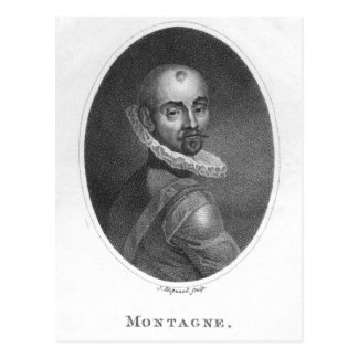 Portrait of Michel de Montaigne Postcard