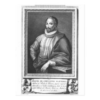 Portrait of Miguel de Cervantes Saavedra Postcard