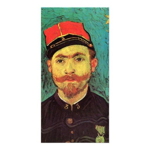 Portrait of Milliet - Vincent van Gogh Photo Greeting Card