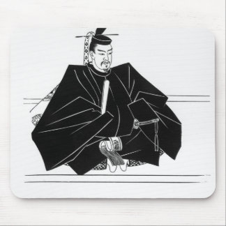 Portrait of Minamoto Yoritomo Mouse Pad