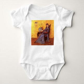 Portrait of Miss Dora Wheele Baby Bodysuit