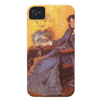 Portrait of Miss Dora Wheele iPhone 4 Case