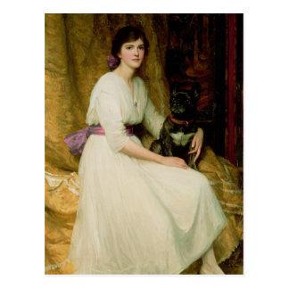 Portrait of Miss Dorothy Dicksee Postcard
