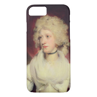 Portrait of Miss Martha Carr (oil on canvas) iPhone 7 Case