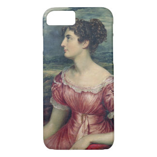 Portrait of Miss Puxley, 1826 (oil on canvas) (see iPhone 7 Case