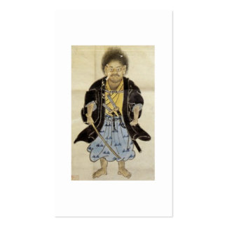 Portrait of Miyamoto Musashi as a boy, Edo Period Pack Of Standard Business Cards