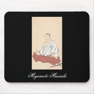 Portrait of Miyamoto Musashi, Edo Period Mouse Pad