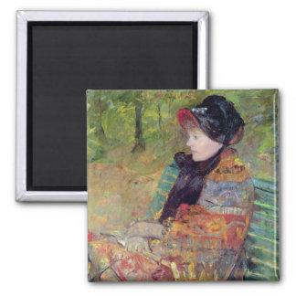 Portrait of Mlle C. Lydia Cassatt, 1880 Magnet