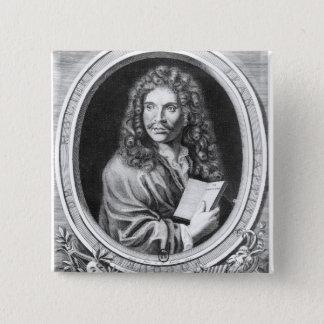 Portrait of Moliere 2 Inch Square Button