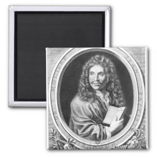 Portrait of Moliere Magnet