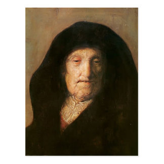 Portrait of Mother of Rembrandt by Rembrandt Post Cards
