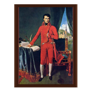 Portrait Of Napoleon Bonaparte As First Consul,  B Postcard