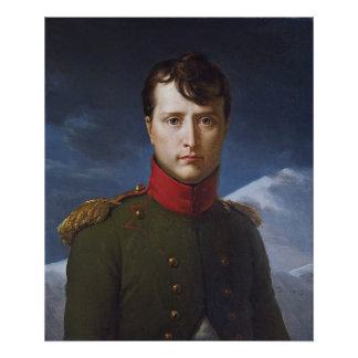 Portrait of Napoleon Bonaparte First Consul Poster