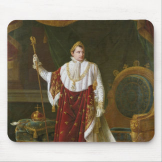 Portrait of Napoleon  in his Coronation Robes Mouse Pad