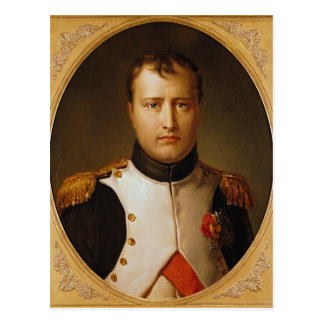 Portrait of Napoleon  in Uniform Postcard
