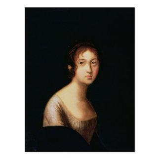 Portrait of Natalia Goncharova, 1820s Postcard