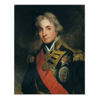 Portrait of Nelson Poster
