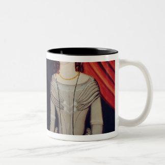 Portrait of Newly-weds Two-Tone Coffee Mug