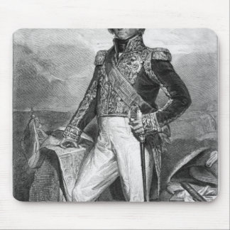 Portrait of Nicolas Jean-de-Dieu Mouse Pad