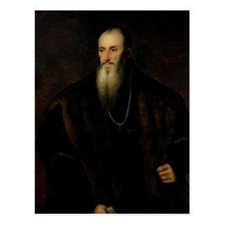 Portrait of Nicolas Perrenot de Granvelle, 1548 Postcard