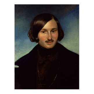Portrait of Nikolay Gogol, 1841 Postcard