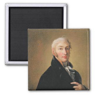 Portrait of Nikolay Mikhaylovich Karamzin , 1805 Magnet