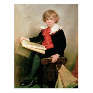 Portrait of Norman Stewart Davies Postcard