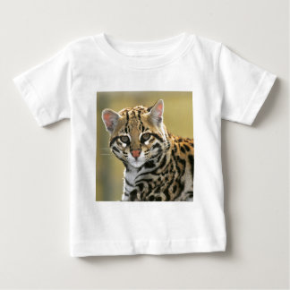 Portrait of Ocelot Baby T-Shirt