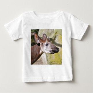 Portrait of okapi (Okapia johnstoni) Baby T-Shirt