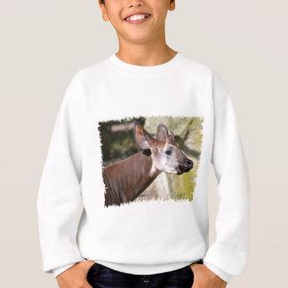 Portrait of okapi (Okapia johnstoni) Sweatshirt