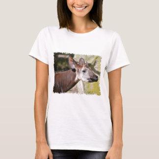 Portrait of okapi (Okapia johnstoni) T-Shirt