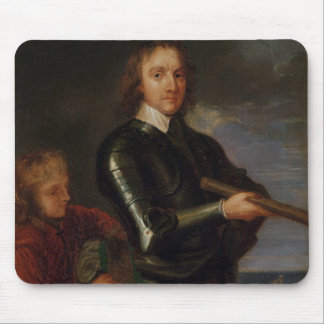 Portrait of Oliver Cromwell Mouse Pad