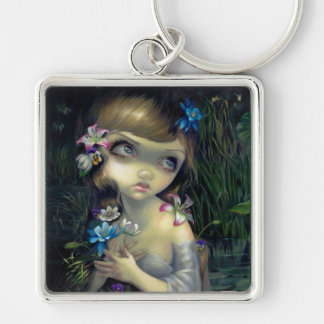 """Portrait of Ophelia"" Keychain"