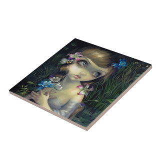 """Portrait of Ophelia"" Tile"