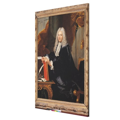 Portrait of Philibert Orry Gallery Wrapped Canvas