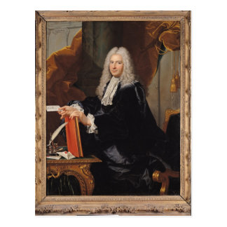 Portrait of Philibert Orry Postcard