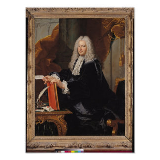 Portrait of Philibert Orry Poster