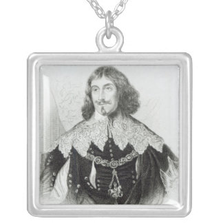 Portrait of Philip Herbert Silver Plated Necklace