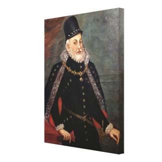 Portrait of Philip II  of Spain 2 Canvas Print