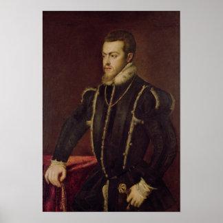 Portrait of Philip II  of Spain 2 Poster